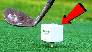 The WORLD'S First Square Golf Ball?!?