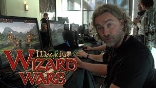 Magicka: Wizard Wars New Game Mode - Developer Preview