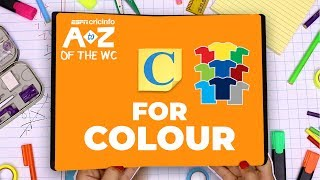 C for colour | World Cup A to Z