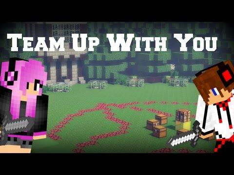 ♪ Team Up With You | Minecraft Parody | Lyrics