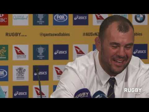 Full post match press conference: Wallabies