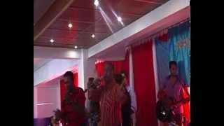 People of Shekinah Church singing Yeshu masih deta khushi