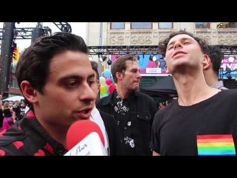 Chat w Arkells at the I HeartRadio MMVA's