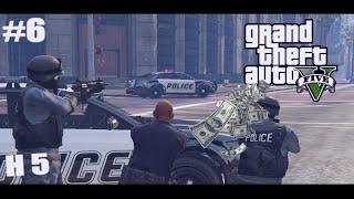 GTA V Online H 5 ปล้นธนาคาร #6