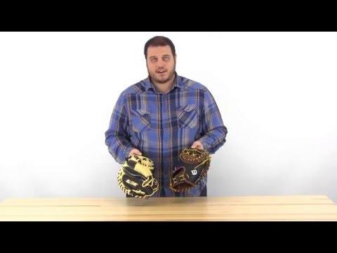 2016 Catcher's Mitt Comparison: Wilson A2K  Pudge vs. All Star CM3000