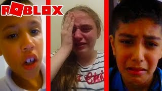 5 Kids Who Cried On Roblox