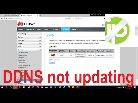 How to solve NOIP DDNS not recieving IP address updates from