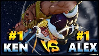 Sfv - gunfight ( #1 alex ) vs kintyo ru ( #1 ken ) | first to 5 - sf5
