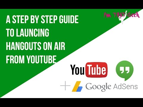 Hangouts on air moved to YouTube Live - here