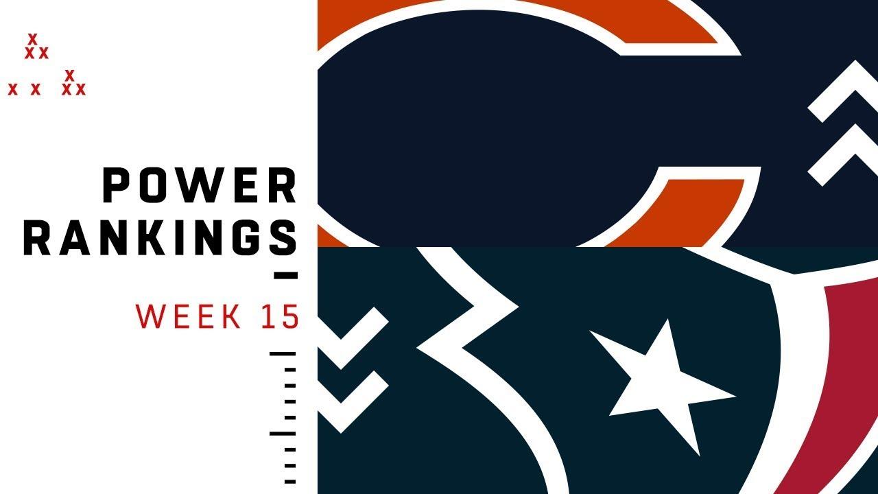 NFL Week 15 Power Rankings!
