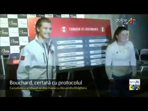 Eugenie Bouchard explains why she doesn't shake hands with Fed Cup opponents