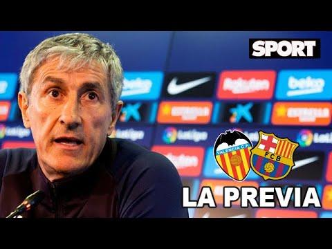 """RUEDA DE PRENSA DE QUIQUE SETIÉN🎙 VALENCIA - FC BARCELONA: """"CADA PARTIDO ES UN EXAMEN"""""""