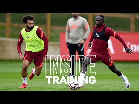 Inside training: goals from the boss, great saves and skills in the rounds
