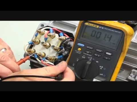 How to check winding resistance on a 230 460v 3 phase for How to check ac motor