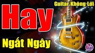 Đẳng Cấp Hòa Tấu Guitar Không Lời | Rumba Nhạc Vàng Hải Ngoại Hay Ngât Ngây | Nhạc Sống Đường Phố