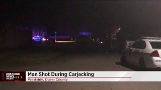 Man shot during carjacking