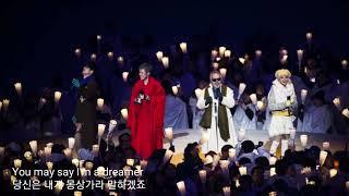 들을수록 좋은 평창imagine (사진하현우위주)-역시 하현우!(Pyeongchang Opening Ceremony Imagine - Also hahyunwoo guckkasten