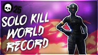 Fortnite Solo Kill WORLD RECORD!   SOLO vs. SOLO Gameplay