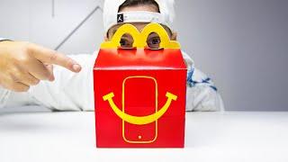 SMARTPHONE McDonald's: o mais barato e mais pequeno do MUNDO