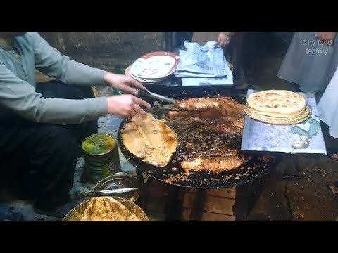 Fish Street food | Fish fried in ghantaghar Peshawar