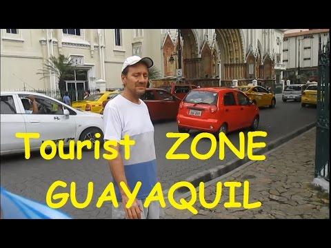 TOURIST ZONE MALECON Guayaquil Ecuador Pleasant & Diverse