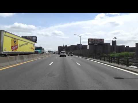 Cross Bronx Expressway Drive Through 2015