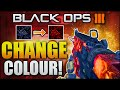 """HOW TO CHANGE DARK MATTER COLOUR! Black Ops 3 """"CHANGE CAMO COLOUR"""" - (BO3  CHANGE CAMO)"""
