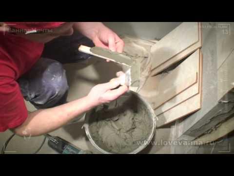 Обучающее видео как класть плитку