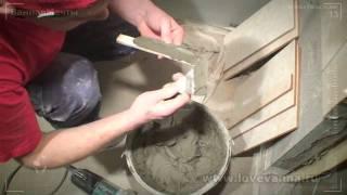 видео укладка плитки на тёплый пол