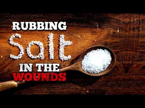 """Rubbing Salt in the Wounds"" Creepypasta"