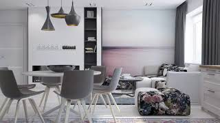 Somalibeautifulhome Modern living room   Natural colors in the interior living room
