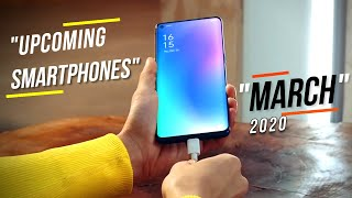 Top Upcoming Smartphones - March 2020