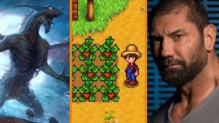 Microsoft Buying Obsidian? + Stardew Valley On iOS + Dave Bautista Wants In On Suicide Squad 2