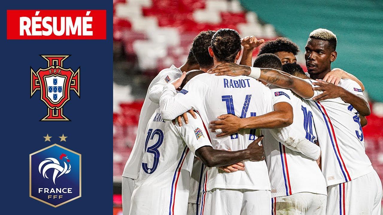 Download Portugal 0-1 France, le résumé I FFF 2020