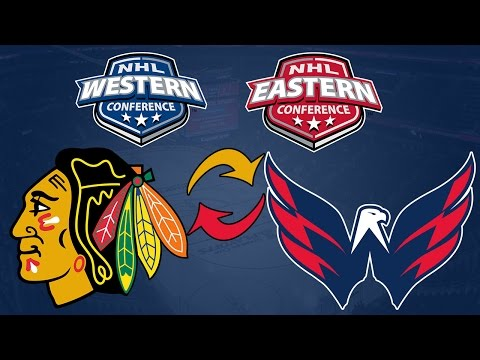 IF CAPS AND BLACKHAWKS SWITCHED CONFERENCES!