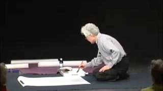 Shozo Sato Caligraphy Demonstration
