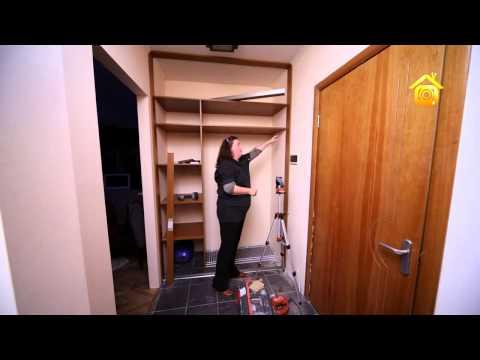 видео: Встроенный шкаф купе  От замера до монтажа