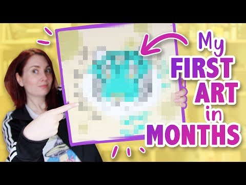Why I Couldn't Make Art for Months (& Mystery Box Unboxing!) thumbnail
