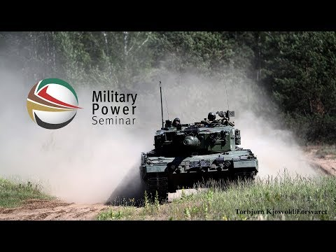 Military Power Seminar 2017 - The Defence of Europe