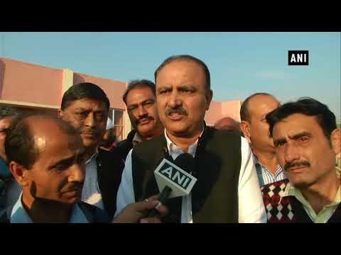 Interlocutor Dineshwar Sharma arrives in Jammu for talks with Kashmiri Pandits