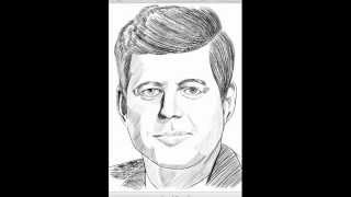 Amazing speed sketch * John F. Kennedy* with Samsung Galaxy Note 2