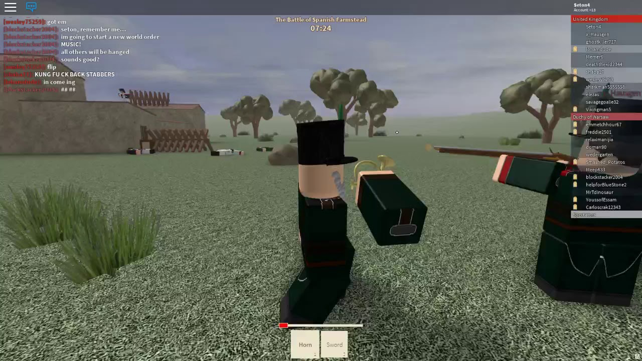 Roblox Blood And Iron Gameplay By Strikes Back