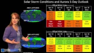 Three Solar Storms To Hit Earth: Solar Storm Forecast 04-14-16