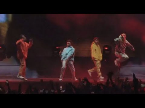 BROCKHAMPTON LIVE AT CAMP FLOG GNAW 2018 FULL PERFORMANCE