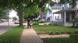 Belgian Malinois, Sonic, Bike Runs With Michigan Dog Trainer