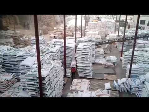 HOW TO MAKING BROILER FEED in factory.