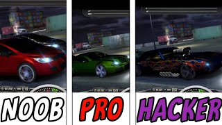 NOOB Vs PRO Vs HACKER - Top speed : Drag and fast street racing screenshot 1