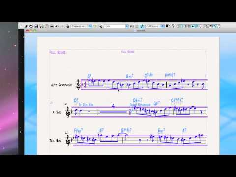 Instrument changes (doublings) in Sibelius and Finale