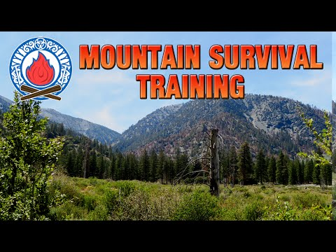 Mountain Survival Training (Ep.1)(Bushcraft & Survival Skills)