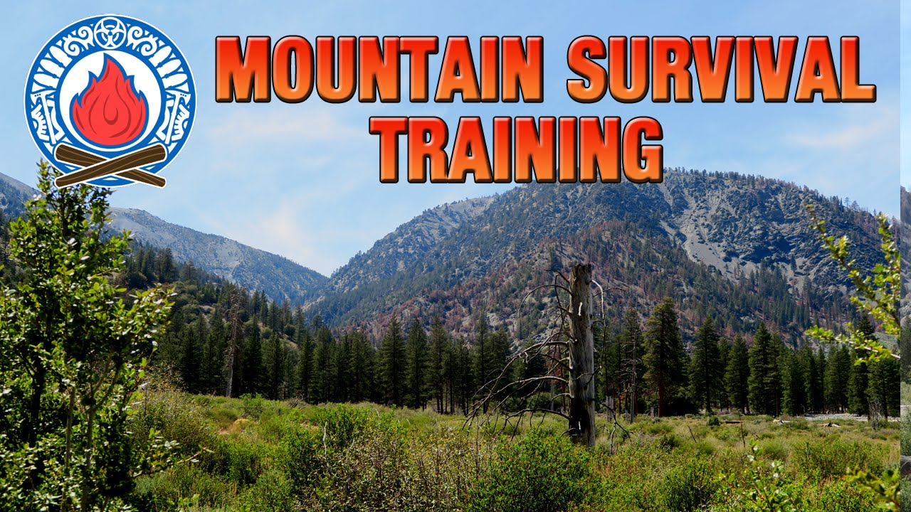 Mountain Survival Training (Ep.1)(Bushcraft & Survival Skills)